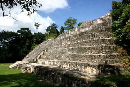 Caracol Maya Temple Site, Cayo, Belize
