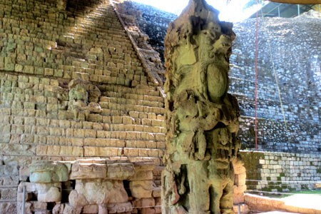 UNESCO Maya Temple Site, Copan Ruinas in Honduras