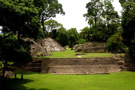 Lubantun Maya Temple Site, Archaeology, Toledo, Belize