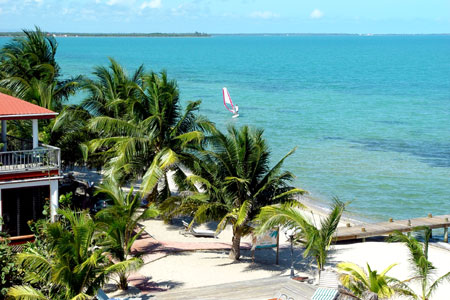 Roberts Grove hotel, Placencia, Belize