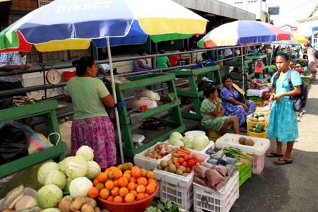 Market in Punta Gorda, Toledo District, Belize