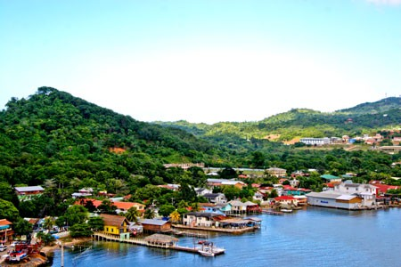 Roatan. Bay Islands, Honduras