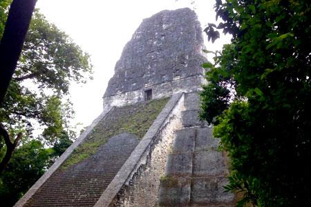 Tikal Temple 5 Guatemala Central America