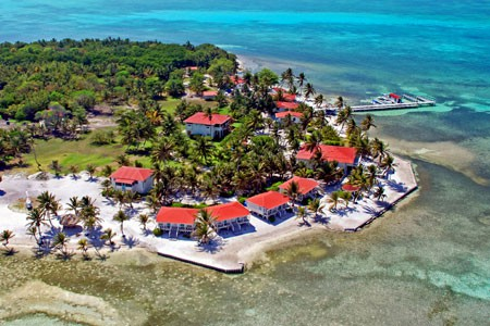 Turneffe Flats Lodge on the outer Caye Islands Belize