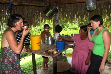 Learn about making Chocolate, Toledo, Belize