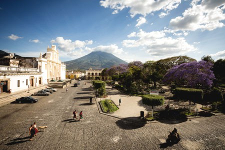 Main Square, Antigua, Guatemala