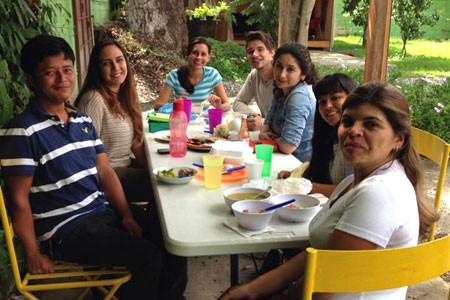 Viaventure Central America team at the Guatemala Office