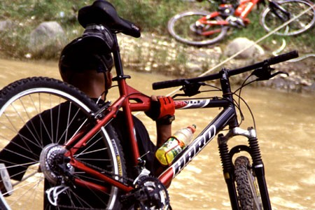 Mountain Biking Single Track Guatemala Central America