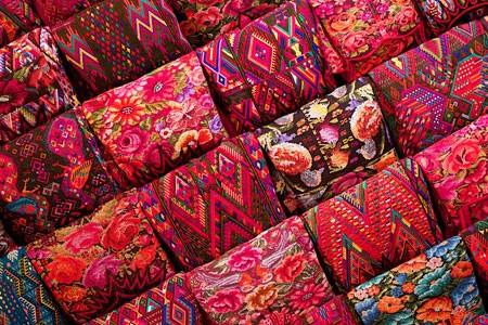 Market Traditions Guatemala Maya People