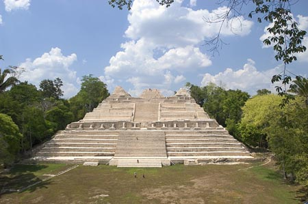 caracol archaeology site belize
