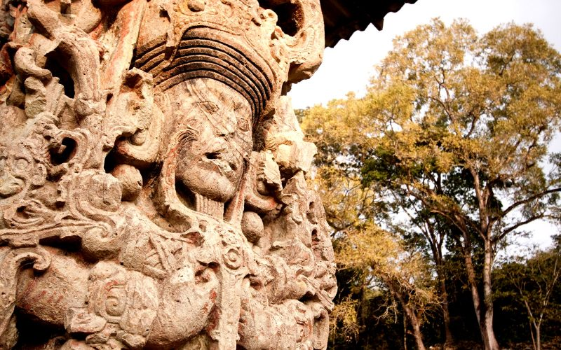 Honduras Copan Maya Archaeology Site