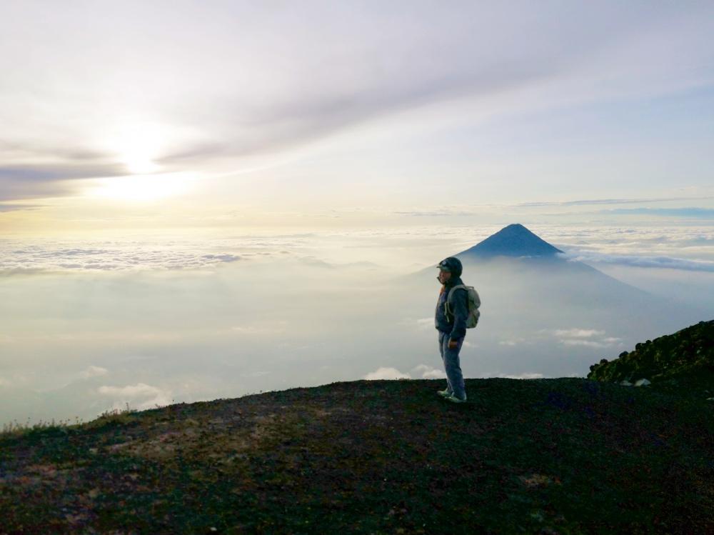 acatenago volcano with viaventure