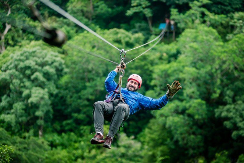 Zip Lining in Rincon de la Vieja, Costa Rica