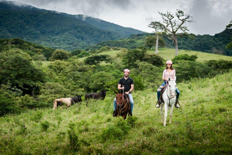 Horse Riding in Rincon de la Vieja, Costa Rica