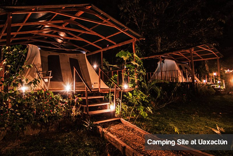 Glamping at Uaxactun with Viaventure