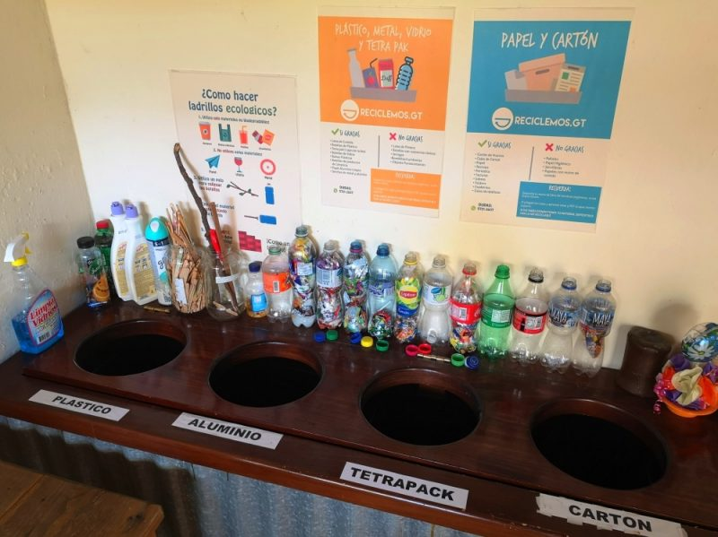 Viaventure's Recyclign Station
