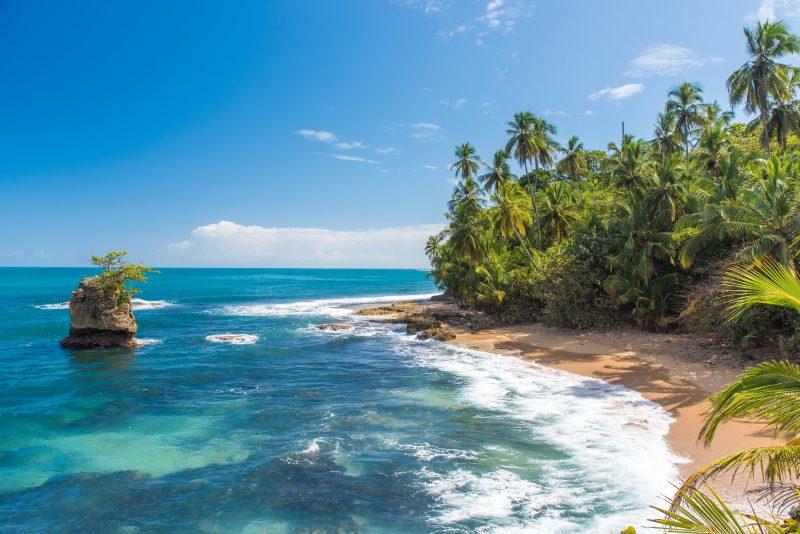 Manzanillo Beach, Puerto Viejo, Costa Rica